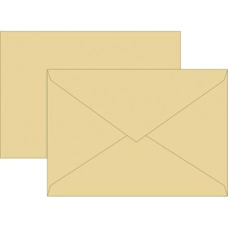 Enveloppe B6 80g mie 10pc