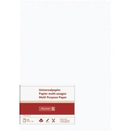 Papier vergé 90g blanc 35f