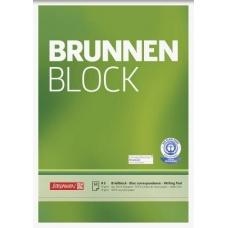Bloc correspondance A5 recyclé uni