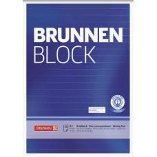Bloc correspondance A5 recyclé lign