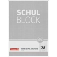 Bloc scolaire A4 Premium 5x5 100p