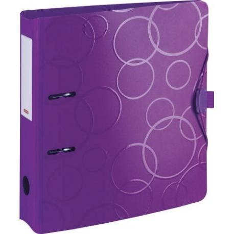 Classeur à levier poly.7cm purple