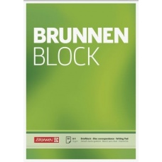 Bloc correspondance A4 BRUNNEN uni