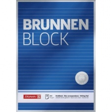 Bloc correspondance A4 Premium lign