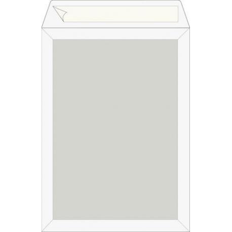Pochette B5 120g cartonné blanc 5pc