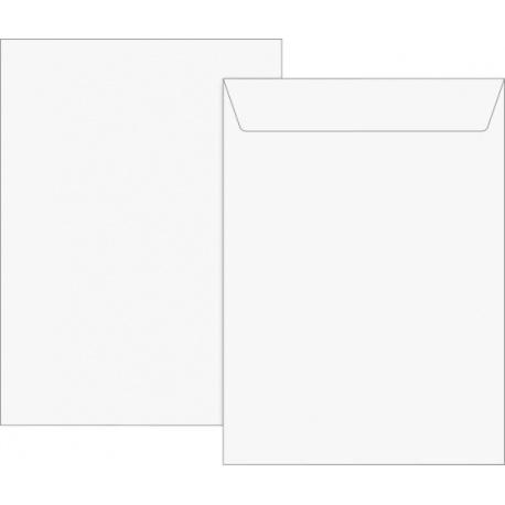 Pochette B4 auto-adh.120g blanc 5pc