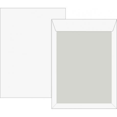 Pochette B4 120g cartonné blanc25pc