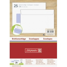 Enveloppe C6 fenêtre autocoll 25pc