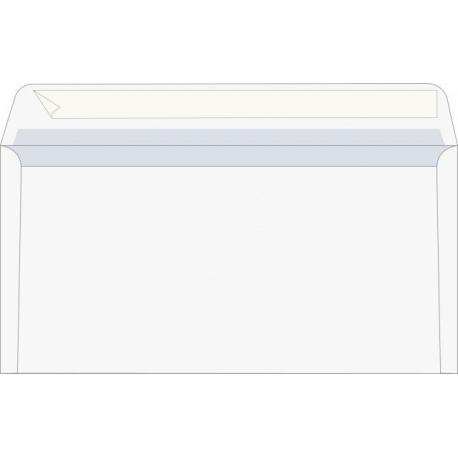 Enveloppe DL gommé doublé-soie 25pc
