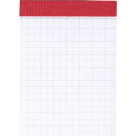 Bloc-notes A7 5x5 perforé 100p