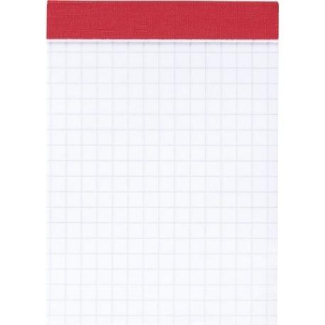 Bloc-notes A7 perforé 5x5 100p