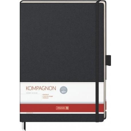 Carnet de notes A4 uni Kompagnon
