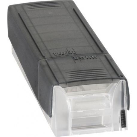 Boîte à fiches A8 Twinboxx gris