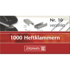 Agrafes n°10 boîte de 1000