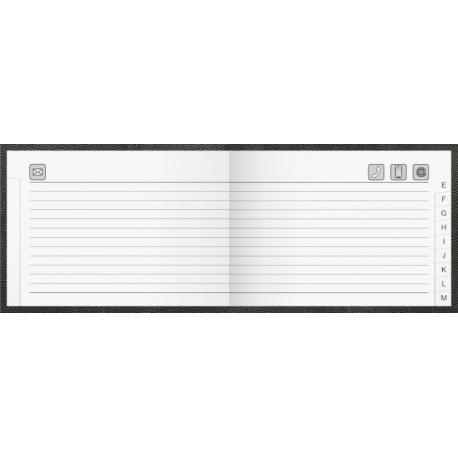 Répertoire 10x7cm ital PVC3c ass96p