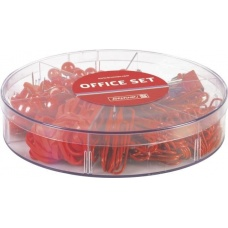 Set de bureau 220 pces red