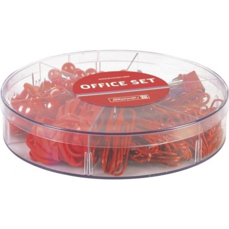 Set de bureau ColourCode red 220pc