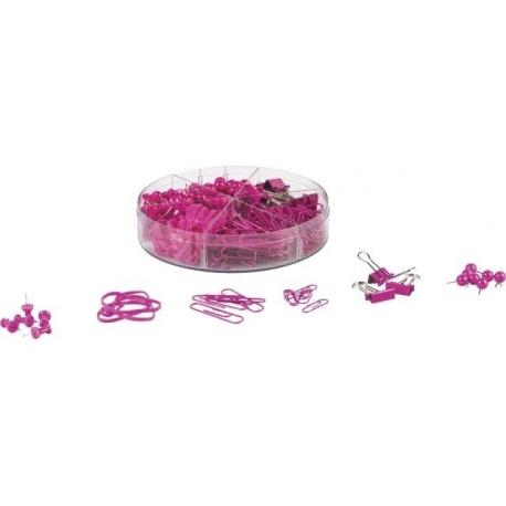 Set de bureau ColourCode pink 220pc