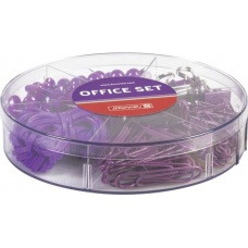 Set de bureau ColourCode purpl220pc