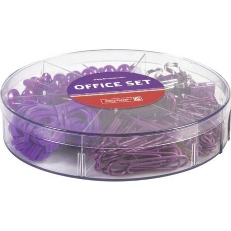 Set de bureau 220 pces purple