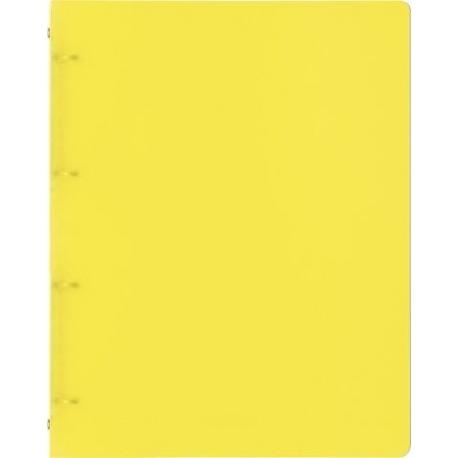 Classeur A4 4annx 16mmFACT!pp jaune