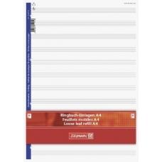 Feuillets mobiles A4 musique 40p