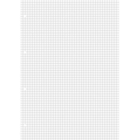 Feuillets mobiles A4 5x5 200p