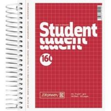 Cahier spiralé A6 Student 5x5 320p