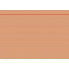 Fiches bristol A5 ligné orange100pc