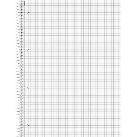 Cahier feuillets détachA4 5x5 160p
