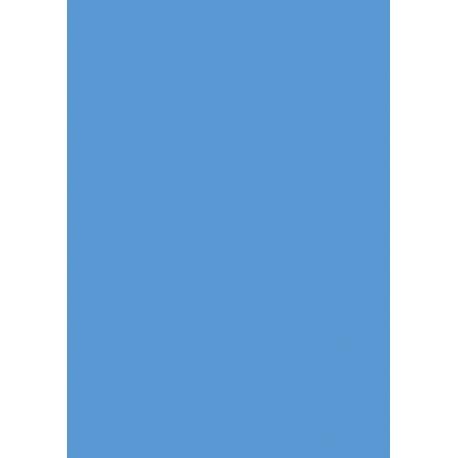 Carton affiche 48x68 380g bleu ciel