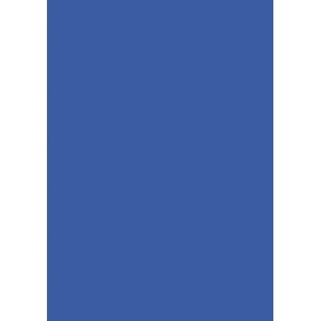 Carton affiche 48x68 380g bleu moy