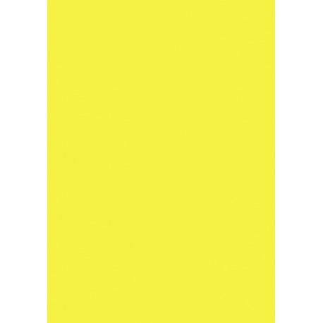 Carton affiche 48x68 340g jaun fluo