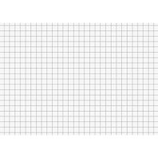 Fiches bristol A6 5x5 blanc 100pc