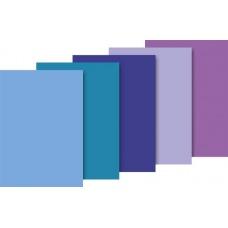 Papier de soie 50x70 ass. bleu