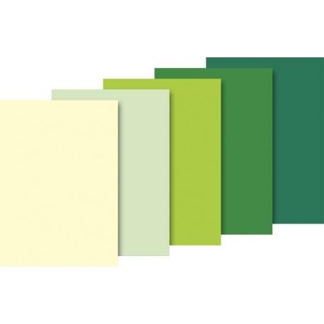 Papier de soie 50x70 ass vert