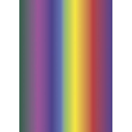 Papier crépon 50x250 arc-en-ciel