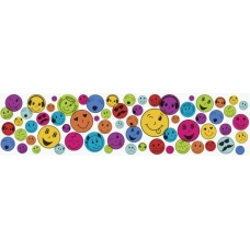 Ruban adh. déco Emojis 2pcs