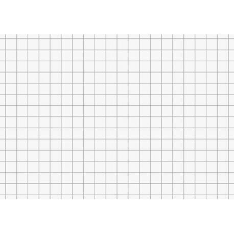 Fiches bristol A7 5x5 blanc 100pc