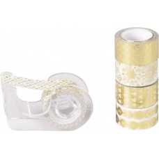 Ruban adhésif Mini brill.or 5pc