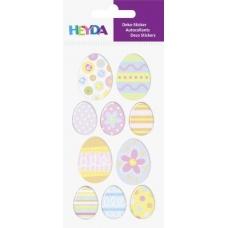 Sticker à thème Peufs Pâques