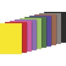 Bloc papier couleur A4 130g 20f