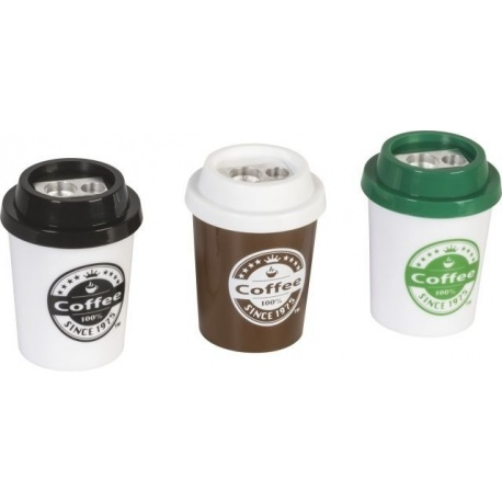 Taille-crayon 2 usages Coffe to go