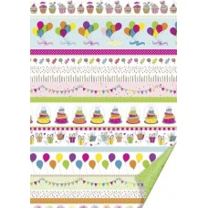 Carton 50x70cm Party couleur