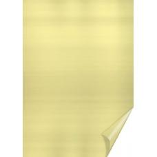 Papier alu en rl. 50x78cm or
