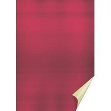 Papier alu en rl. 50x78cm or/rouge