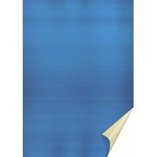 Papier alu en rl. 50x78cm or/bleu