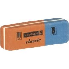 Gomme 5,7x2cm CLASSIC rouge-bleue