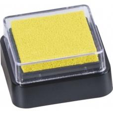 Coussin encreur Mini 3x3cm jaune
