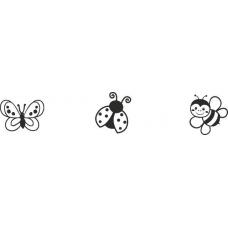 Set de tampons Mini Coccinelle